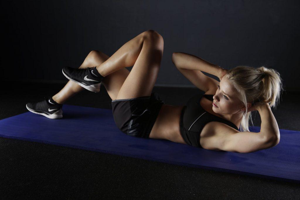 Flexiones con rodillas