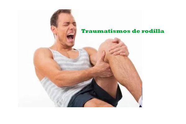 traumatismos de rodillas